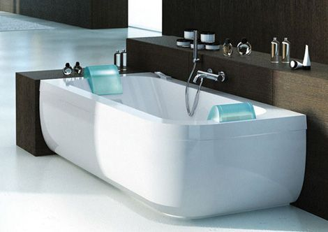 OVERSIZED 2 PERSON jetted bathtubs | Two Person Whirlpool Tub from Jacuzzi: Aquasoul Double whirlpool