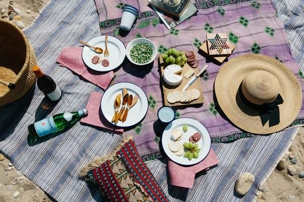 Essentials for a weekend picnic