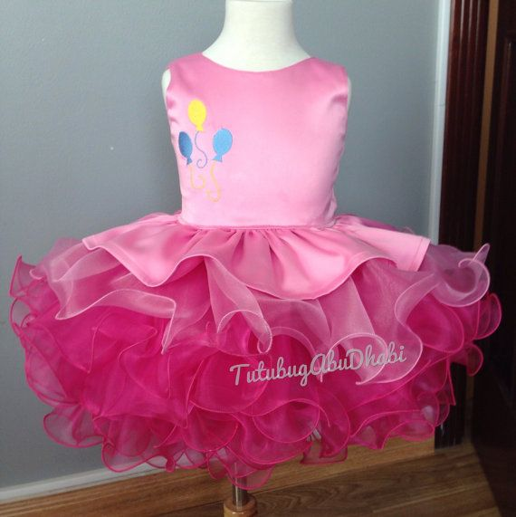 Pinkie Pie My Little Pony dress costume by TUTUBUGAbuDhabi on Etsy