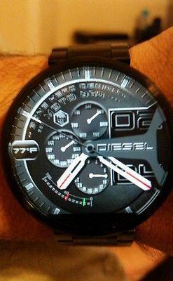Diesel designer 5 pack moto 360 digital watch faces moto 360 watch faces - 5 5 designers bernardaud ...