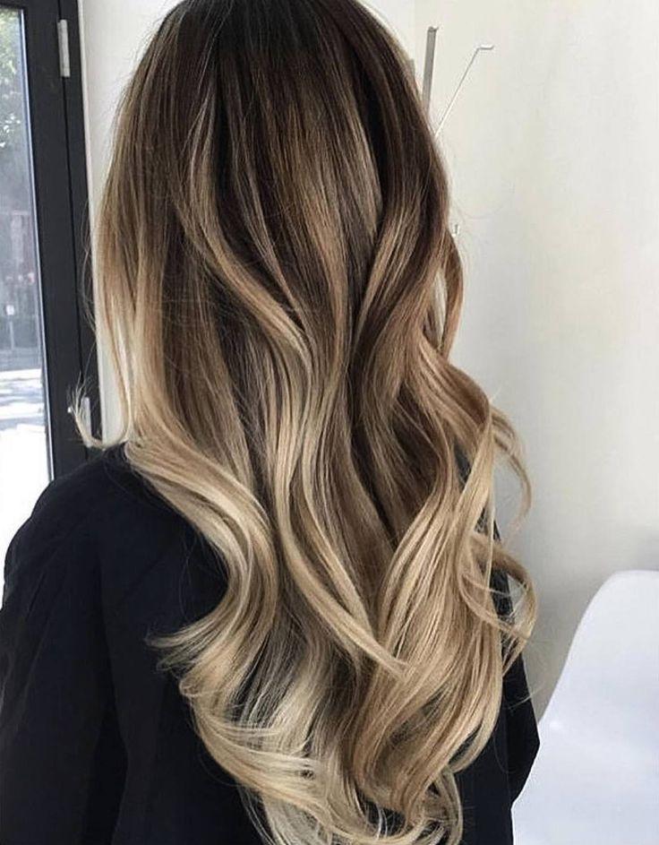 Как покрасить кончики волос в домашних условиях: омбре, балаяж 50