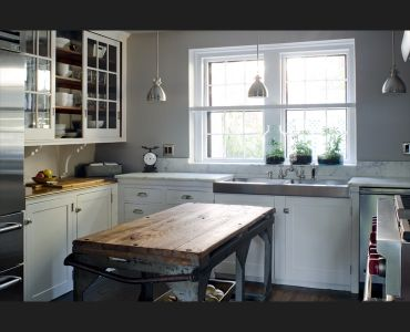 Yes! Old + New, repurposed wood, kitchen, beautiful
