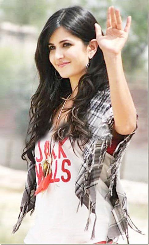 Katrina's sensational smile