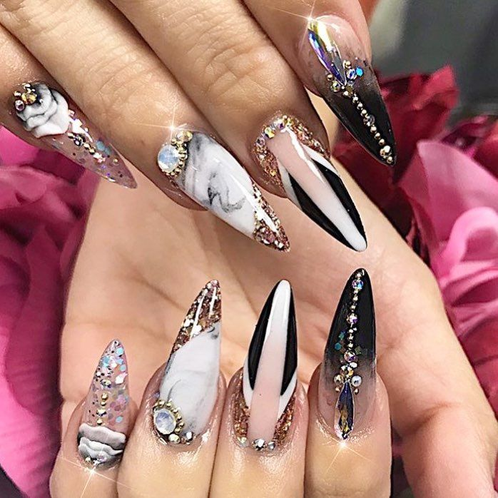 Pin By India Wylie On Nails Nail Designs Gorgeous Nails Luxury