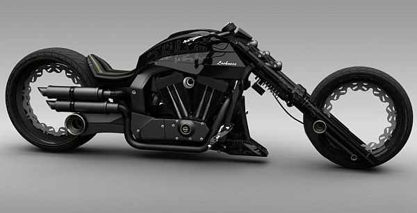 Futuristic Motorcycle, Lochness Chopper concept by Mohammad Reza Shojaile SUPER COOL!!!