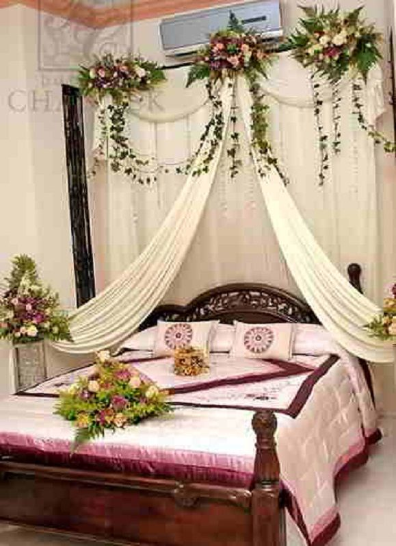 1000 images about romantic bedroom ideas for wedding for Wedding bedroom decoration ideas