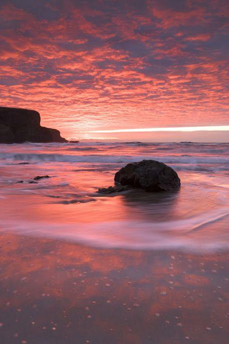 The beach, Mawgan Porth, Cornwall