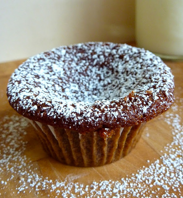 ginger and molasses cupcake | Recipes: Desserts | Pinterest