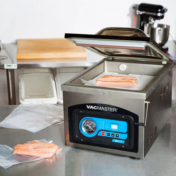 """ARY VacMaster VP215 Chamber Vacuum Packaging Machine with 10 1/4"""" Seal Bar"""