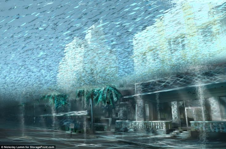 Waterworld: How Americas cities will look in five centuries if sea level rises predicted by scientists prove correct