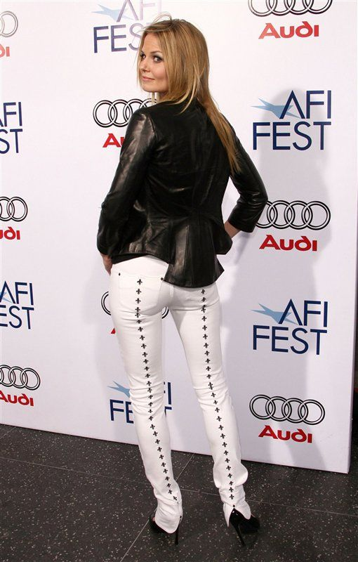 Polished beauty Jennifer Morrison