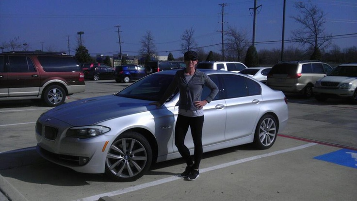 Here's a great pic of our friend Lorie Thomas from Texas. She's a single mom, but she still found time to build her WorldVentures business and qualify for this silver bimmer! #WorldVentures #WingsWheels