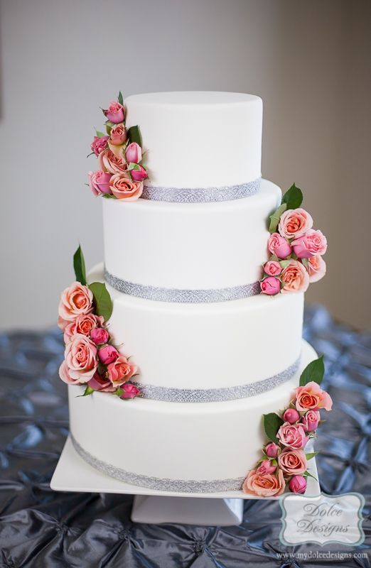 wedding cake / Austin and Houston by Dolce Designs