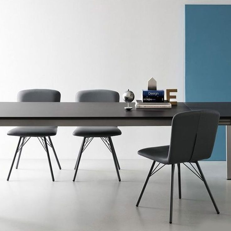 Emma Dining Chair - Connubia Calligaris - Comfortable Faux Leather Seat