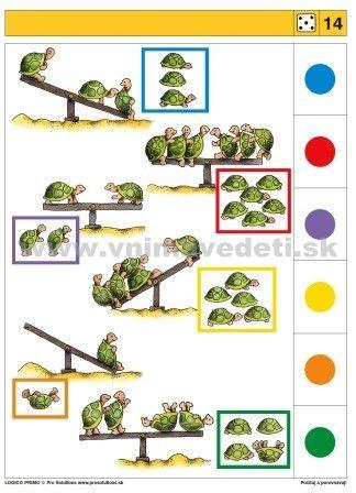 Logico Primo Počítaj a porovnávaj - autokorektívne karty