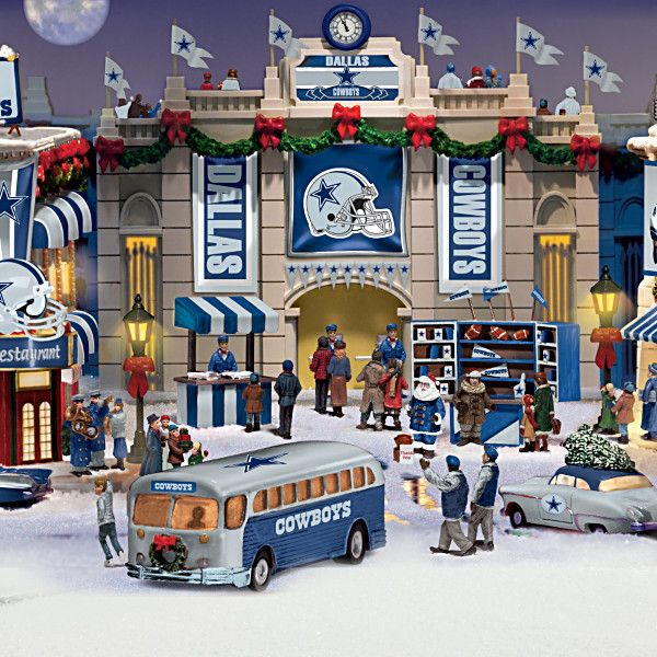 Dallas Cowboys Christmas Village Collection