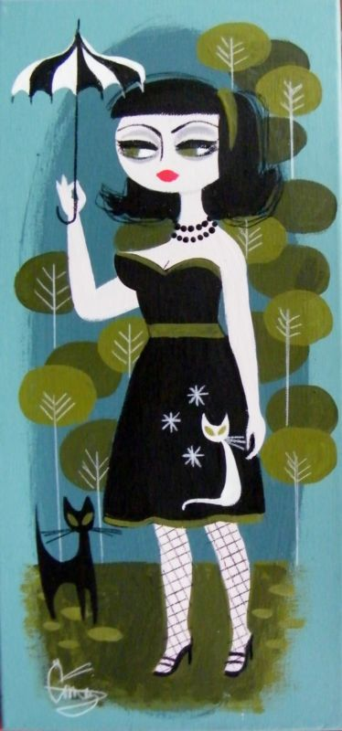 El Gato Gomez painting