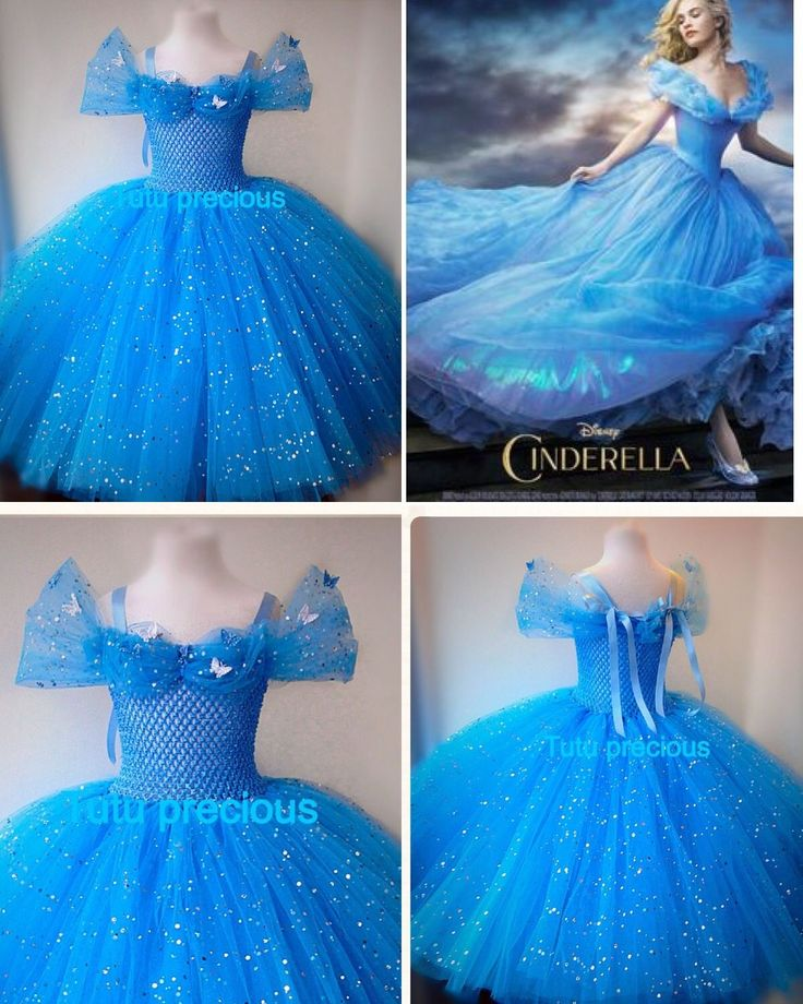 Disney Inspired  Cinderella Tutu Dress - Dressing up / Costume in Clothes, Shoes & Accessories, Fancy Dress & Period Costume, Fancy Dress, Girls' Fancy Dress | eBay
