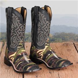Camo Stingray Boots