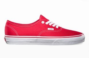 VANS Authentic, Red www.madness-shop.com