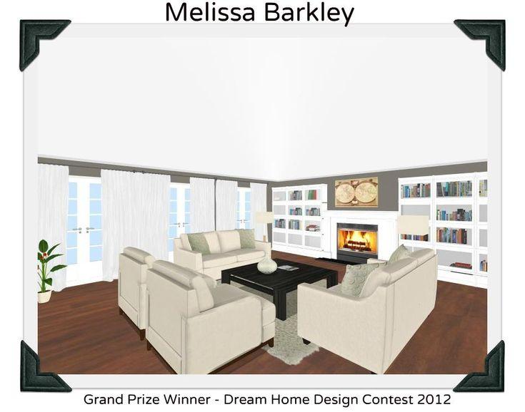 3 Winning Entries In Our Dream Home Design Contest Http Blog Roomsketcher Com Dream Home Design Contest Winners Roomsketcher Blog Pinterest Home