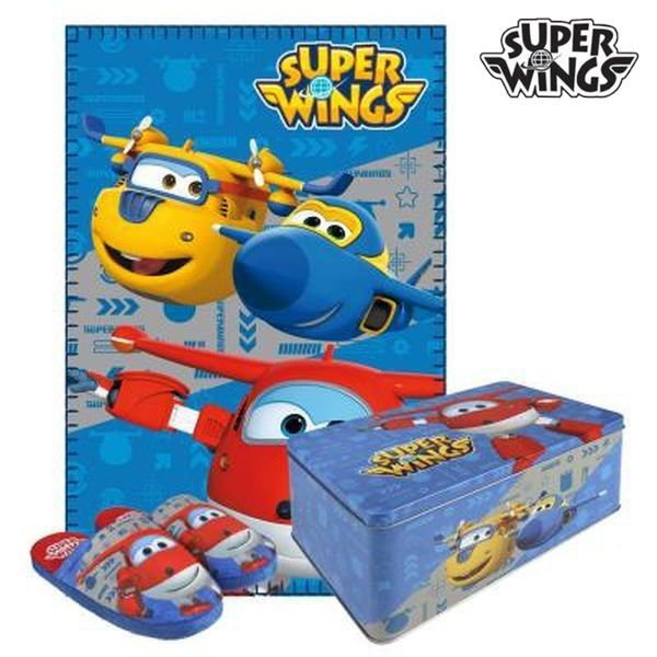 Metal Box With Accesories Super Wings 9668 3 Pcs Size 28 29 Metal Box With Accesories Super Wings 9 Boite Metallique Chausson Enfant Coffret