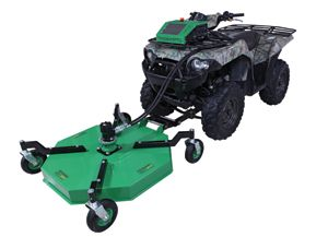 A twist on ATV attachments brings new meaning to versatility and mobility.