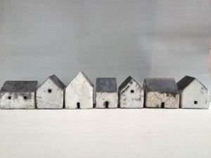 Gallery Fifty Five  » Small Raku Houses