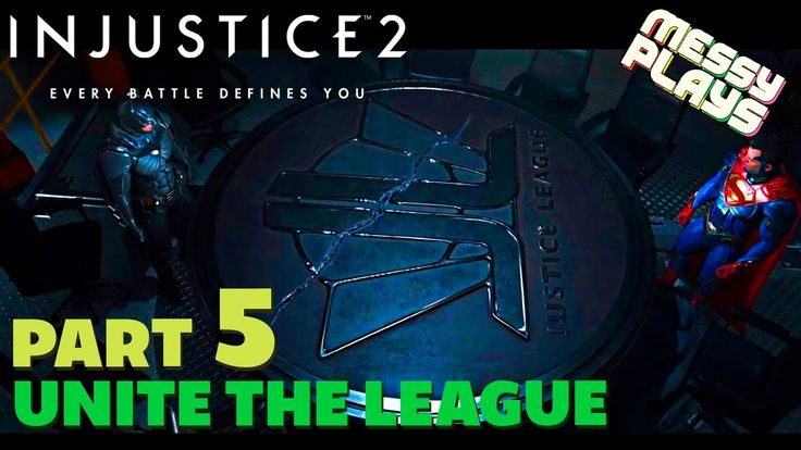 INJUSTICE 2 - Part #5 - LETS PLAY with Commentary - MESSYPLAYS