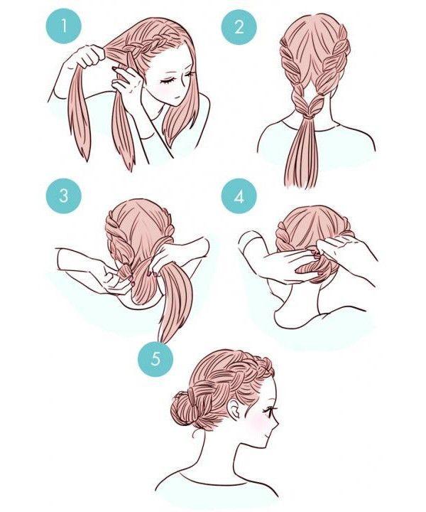kolay saç modelleri