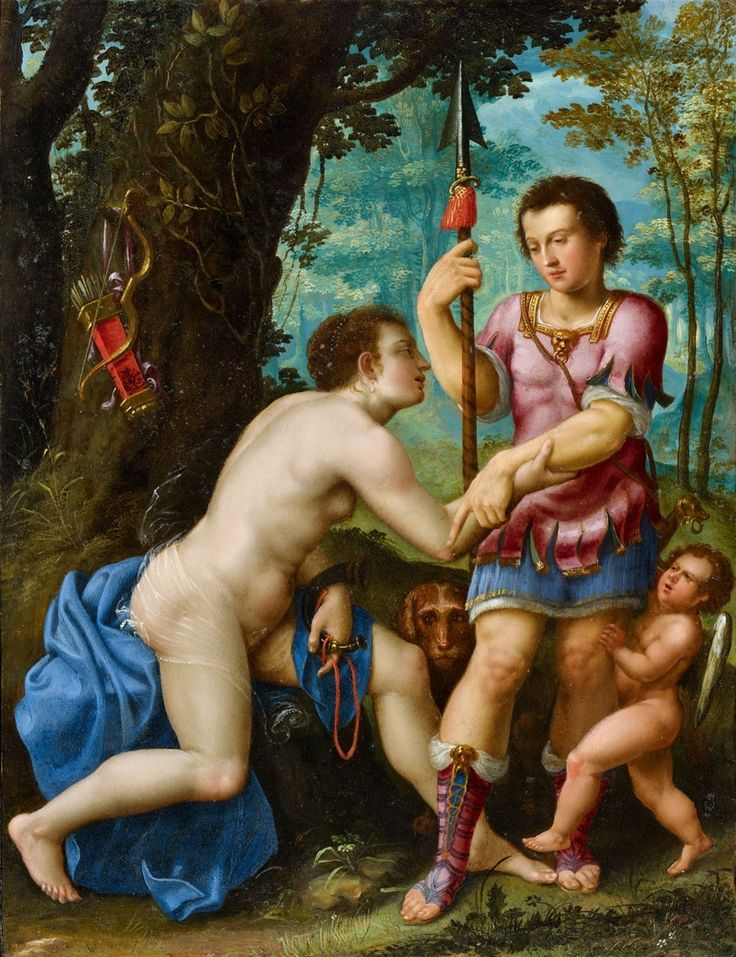 Prague School, Venus and Adonis, Auction 1067 Old Masters and 19th Century Arts, Lot 1227