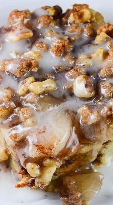 Cinnamon Apple Pie Bread Pudding | apple desserts