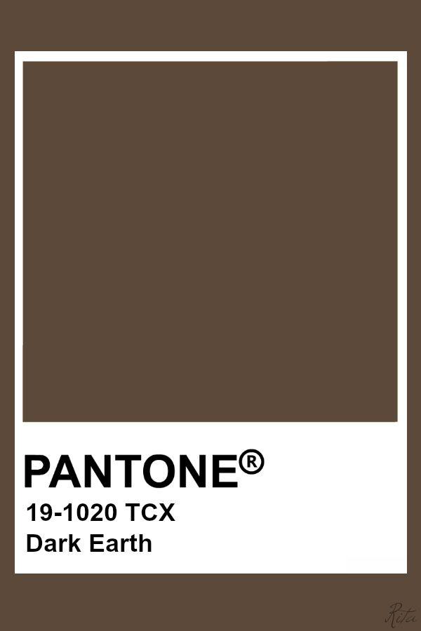 Pantone Dark Earth Pantone Colour Palettes Pantone Color Pantone