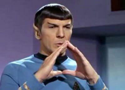 Star Trek Original Series...Leonard Nimoy as Lieutenant Commander Spock, commonly Mr. Spock