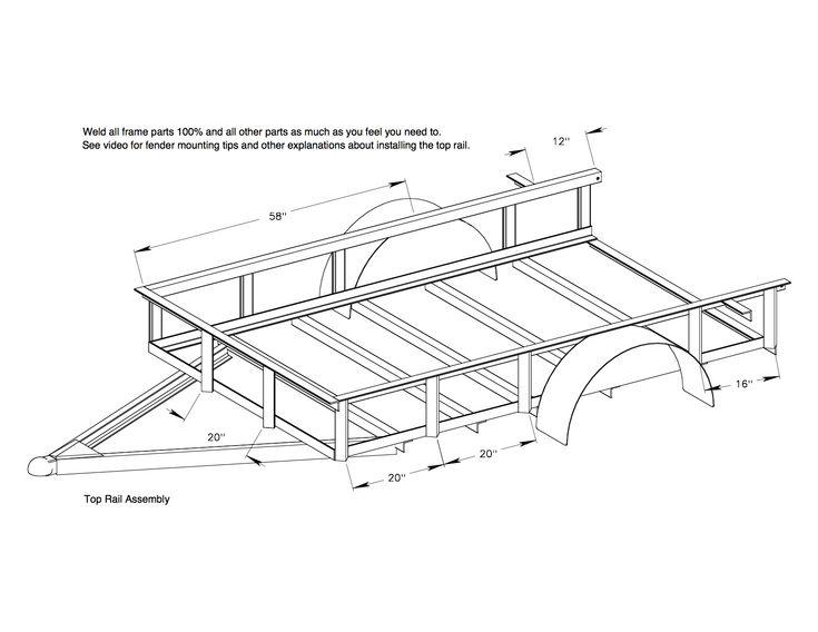 Best 25 Utility trailer ideas – Lowes Trailer Wiring Diagram