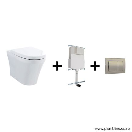 PROGETTO EVO 55 FLOOR MOUNT TOILET PACKAGE