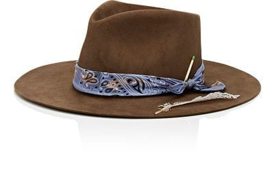 Shop Nick Fouquet men's accessories with price comparison across stores in one place. Discover the latest Nick Fouquet accessories for men at ModeSens. Bandana, Urban Hippie, Boho Hat, Western Hats, Hat For Man, Stylish Hats, Cool Hats, Felt Hat, Mens Caps