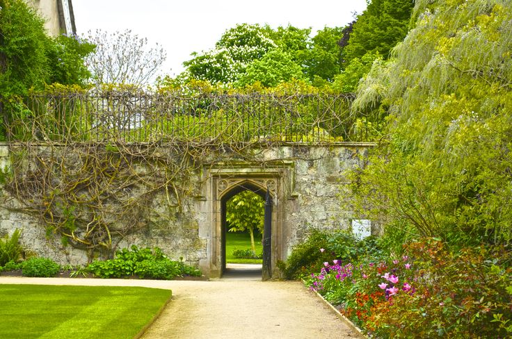 Gateway at Worcester College, Oxford, England