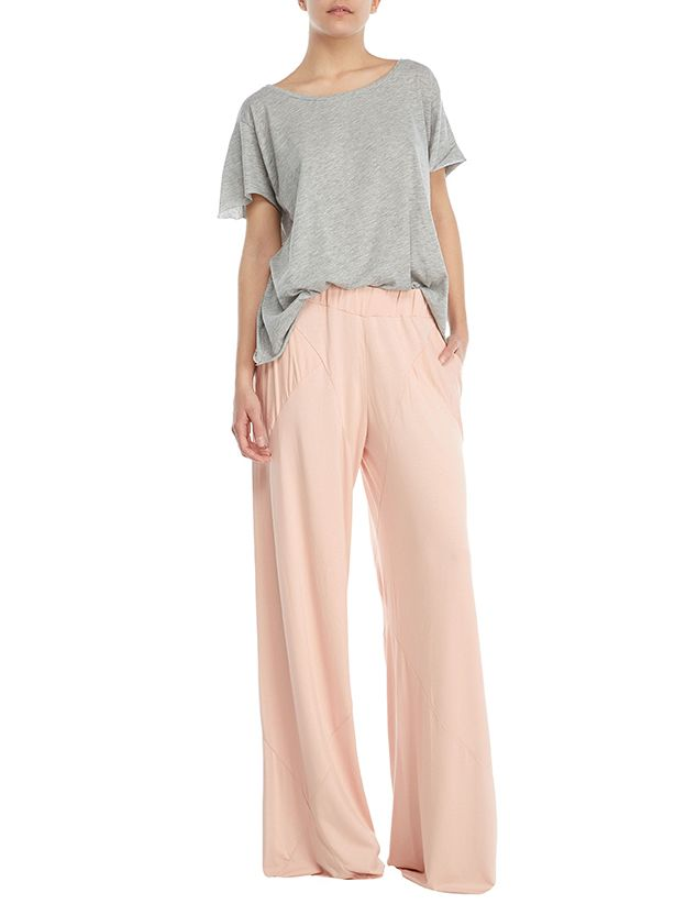 Santa cruz top - Puerto Gallera wide leg pants  #basicCollection