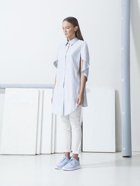 Asymetrická košile - Dámská móda - Bakošová Josefina - HARDDECORE