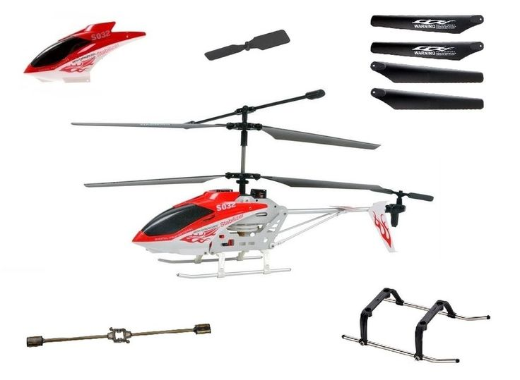 Syma S032G RC Helicopter Spare Parts - UK Stock  #Syma