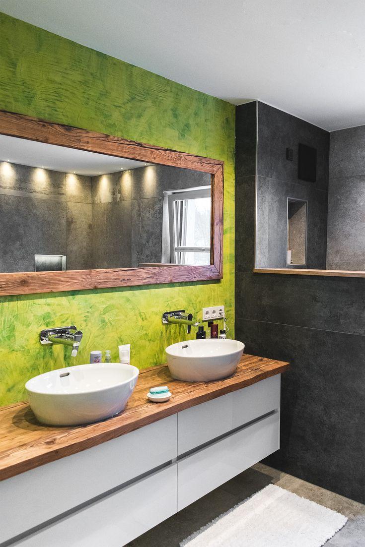 Altholz Im Badezimmer   Altholz Design, Altholzbretter, Altholzspiegel,  Altholztischplatte, Spiegel, Badezimmerideen