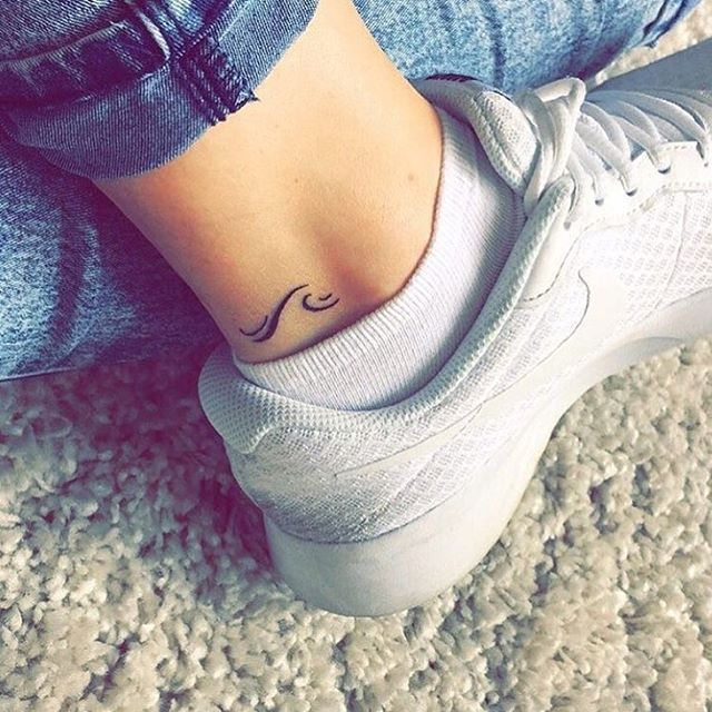 17 best ideas about small wave tattoo on pinterest small foot tattoos wave tattoo foot and. Black Bedroom Furniture Sets. Home Design Ideas