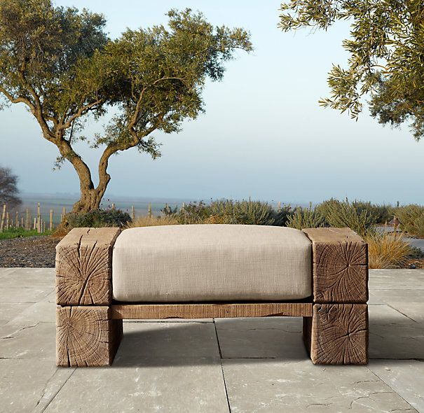 Aspen Ottoman I would love to see this as a DIY project. Cost of $1,234.00 w/S&H is too much.