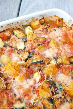 Ovenschotel met kip en Italiaanse groenten 3