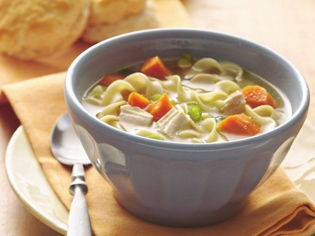 Easy Chicken Noodle Soup ... Take a simmering pot of comforting ...