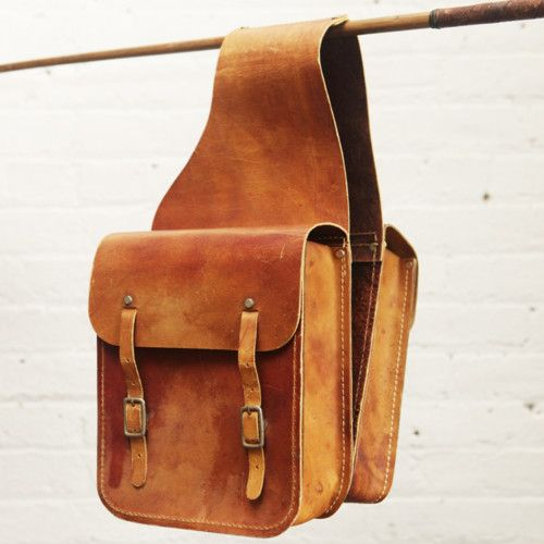 Leather Saddle Bag. These are more the color I need...but not the style.