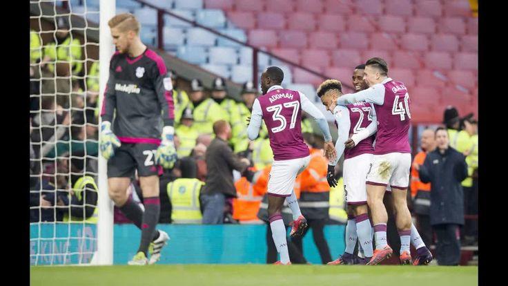 Video thumbnail, Aston Villa v Cardiff City