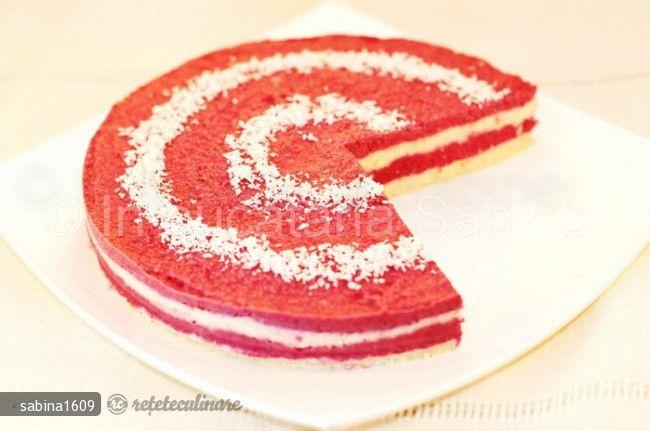 Cheesecake Crud cu Zmeura / prezentata de sabina1609