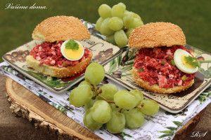 Pomazánka s červenou řepou a cottage cheesem